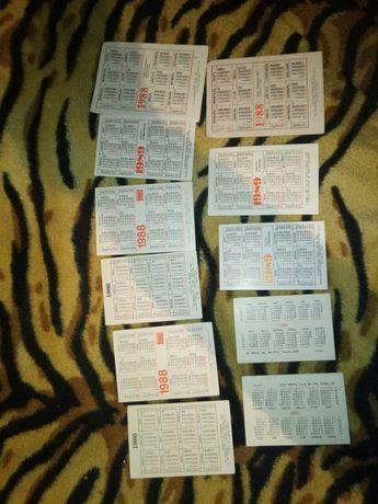 календарики ссср Токмак - изображение 2