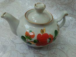 Заварник фарфоровый для чая СССР