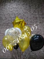Гелеві кульки Кульки з геліем Шарики с гелием Шар с гелием від 20 грн