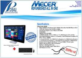 "Refurbished Mecer 24"" All in One PC"