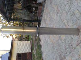 Komin zakończenie ze stali kwaso i żaro odpornej fi 13mm dł. 131 cm