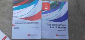 The South African Law of persons 5th edition including casebok