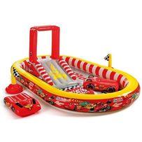 Детский надувной центр бассейн батут Intex 57134 Тачки 348х198х121 см