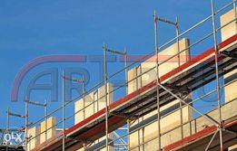 Rusztowania rusztowanie budowlane 306 m2 TOTALNA WYPRZEDAŻ