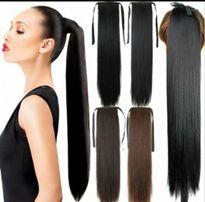 Шиньен хвост накладной искусственные волосы хвостик прицепной шиньон