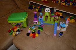 Большой набор Лего Дипло Lego Duplo в ведре или на пластине.Оригинал