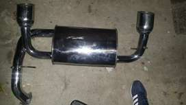 Exhaust pipes stainless steel