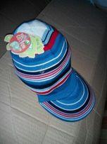 трикотажная кепка для девочки