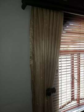 2 X Leather Palmets, Blinds & Curtains