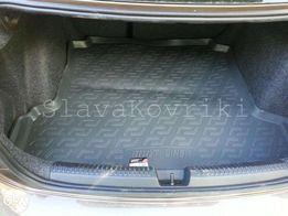 Ковёр в багажник Volkswagen Polo sedan 2010-17;хэчбек 02-17,поло седан