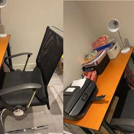 Desk and Desk Chair R1600