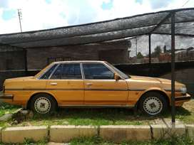 Toyota Cressida of 1990. 3 litter fuel injector. Automatic transmissio