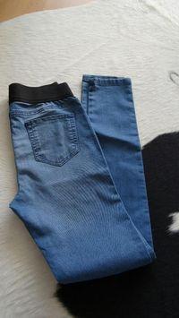 Obrázek Svetle modre jeggins kalhoty