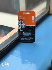 OTG 8GB mobile USB drive,brand new and sealed in a shop 0