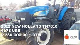 2012 NEW HOLLAND TM7010