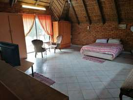 Fully furnished Thatch bachelor flat