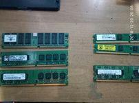 комп запчасти (память, переходники, звуковая, сетевая переходники VGA)