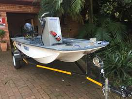 Tug 20 bass fishing boat