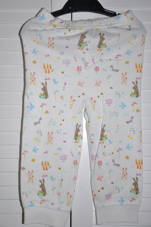 MOTHERCARE Dziewczęca piżamka w zwierzątka leśne 9-12 miesięcy 74-80cm Wilga - image 4