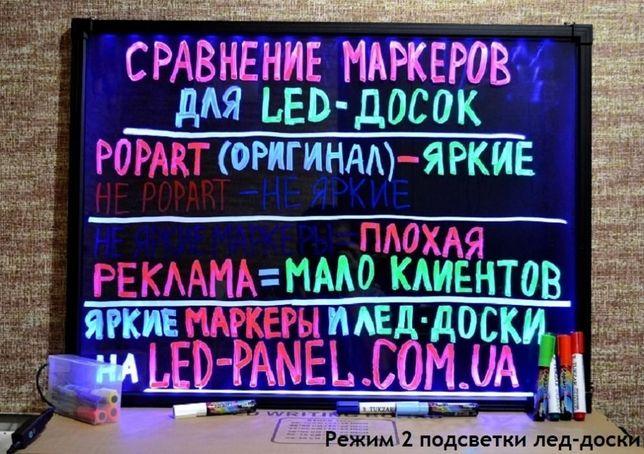 Флуоресцентный Меловой маркер,яркий, жидкий мел,LED доски,стекла,от1шт Чернигов - изображение 2