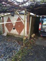 Розбірний металічний гараж