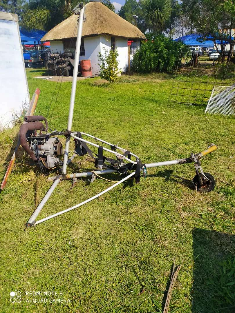 Tri cycle Microlight frame with motor