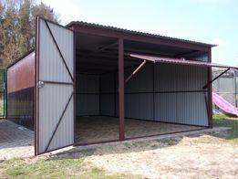 garaż blaszak 4x5 blaszany garaz wiata producent 5x5 6x6 7x7 8x8 5x3