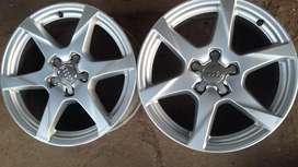 4 × 17 inch AUDI mags for sale