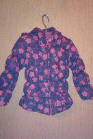 Курточка демисезонная на девочку 3-4 года