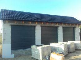 Drzwi garażowe energooszczędne bramy segmentowe panelowe 2199zł