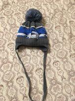 Зимняя шапка для мальчика 48-50