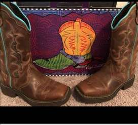 Geniune Leather Cowboy Boots