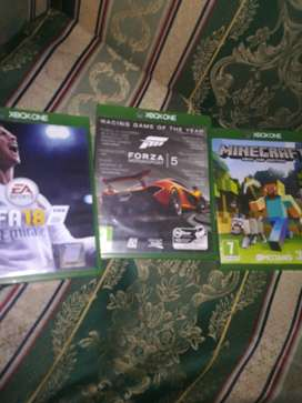 3 Xbox one games for sale (cheap)
