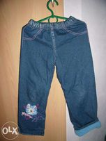 джинсы утепленные Глория Джинс,рост 116