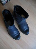 Używane zimowe buty, skóra 36 rozmiar