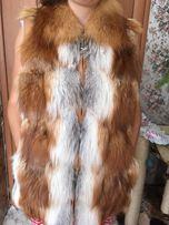 Шикарная жилетка из меха Лисы