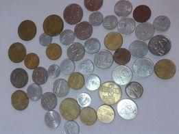Монеты Словакии 1,2,5,10 крон 1982-98г.