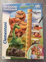 Puzzle Dinozaur - miarka