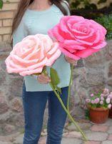 Большие объемные цветы из бумаги для подарка, фотосессии, декора