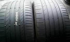 2x315/35/20 continental SUV runflats tyres for sell