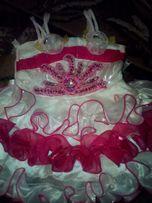 Платье для маленькой принцессы+ повязка