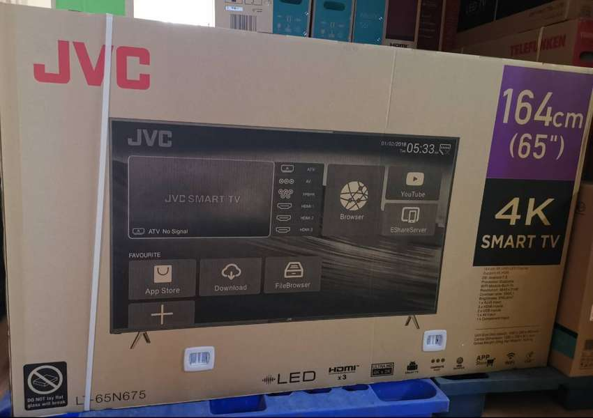 JVC 65 Ultra HD 4K Smart TV - 1 Year Guarantee 0