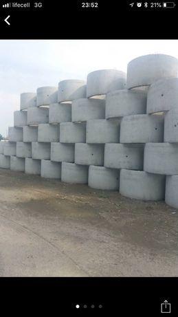Кільця каналізаційні бетонні