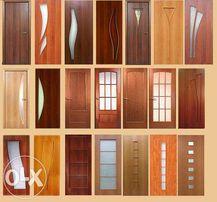 Услуги по установке межкомнатных дверей