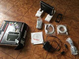 Медиа центр / USB внешний и LAN сетевой винчестер Welland ME-747AK-SI