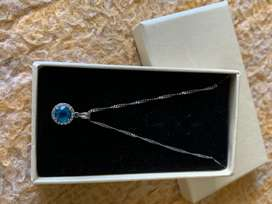 BLUE stone necklace for sale