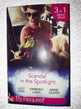 Scandal In The Spotlight – Lucy King - Mills & Boon.