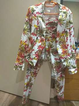 An elegant colourful ladies suit urgently selling