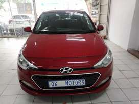 Red Hyundai i20 motion