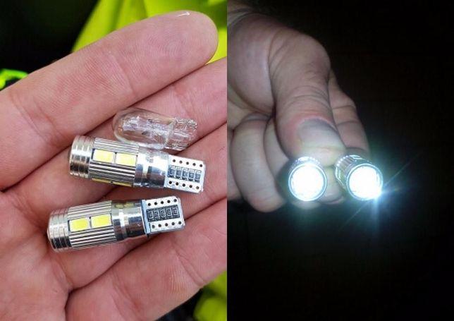Габаритные огни T10 LED лампа линза светодиодная Дневные ходовые огни Кривой Рог - изображение 2